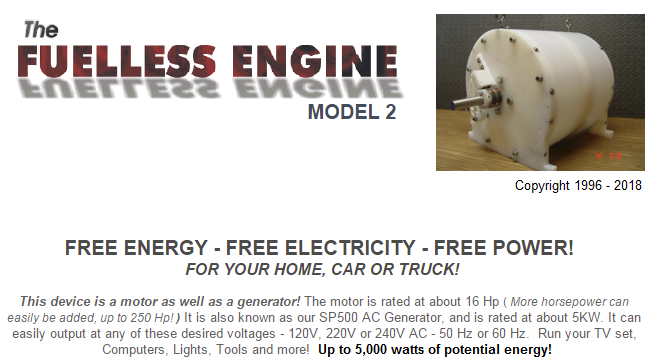SP500 Generator model 2