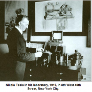 Nikola Tesla lab new york