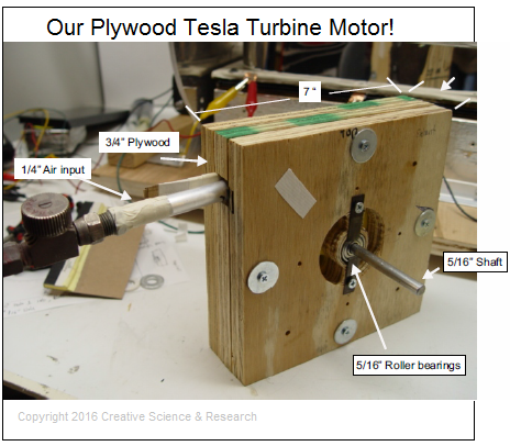 The Tesla Turbine Motor Plans – FuellessPower.com