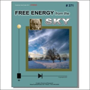 Front Cover for Free Energy From The Sky Plans