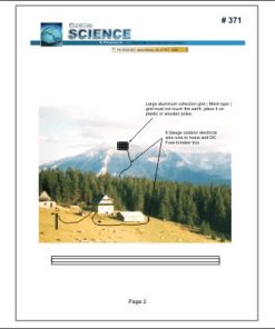 front cover of free energy from the sky plans