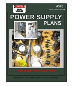 front cover High Voltage Power Supply Plans