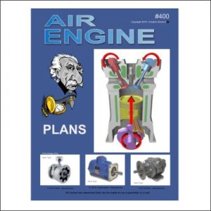 front cover for The Air Engine Plans
