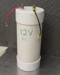 Photo example of the outside of a homemade battery