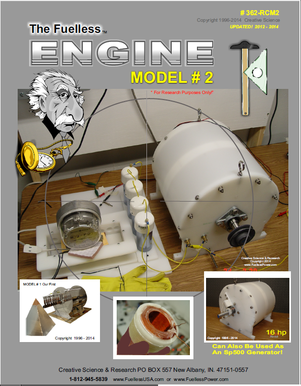 The Fuelless Engine Model 2 Plans – FuellessPower.com