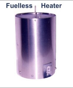 Photo of our aluminum type Fuel-less Heater space heater