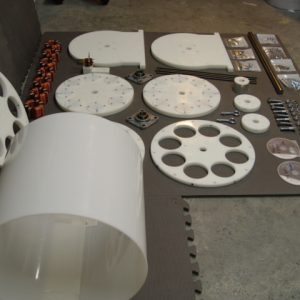 SP500 AC Generator Kit parts