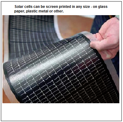 Photo of a man holding a solar cell in hand