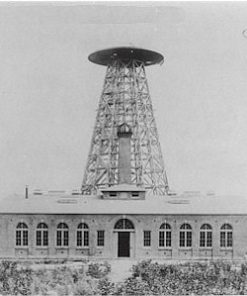 Photo of Tesla's free energy transmitting tower