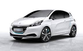 Photo of small car that could be made to run on Hydrogen.