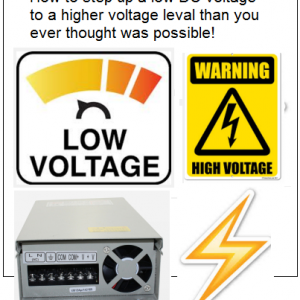 front cover for New Ideas On Stepping Up Low DC Voltages Plans