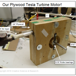 front cover tesla turbine plans