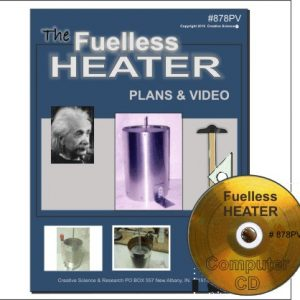 front cover for The Fuelless HEATER Plans