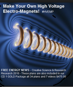 front cover for High Voltage Electromagnet Plans