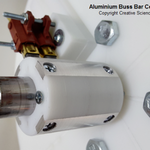 white aluminium buss bar commutator
