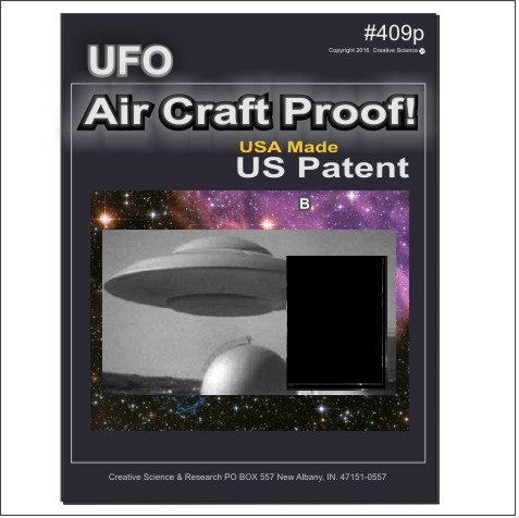 UFO Air Craft E-book cover order number 409