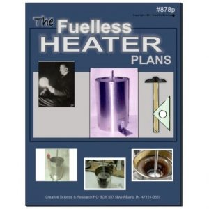 Fuelless heater plans front cover