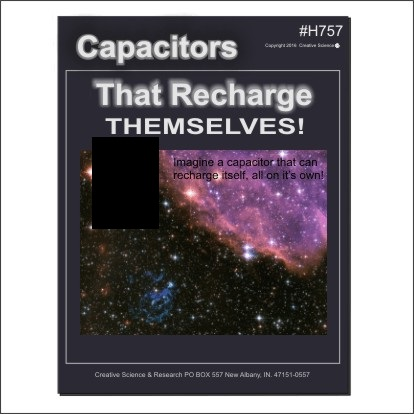 Capacitors that recharge themselves, Plans book cover order number H757